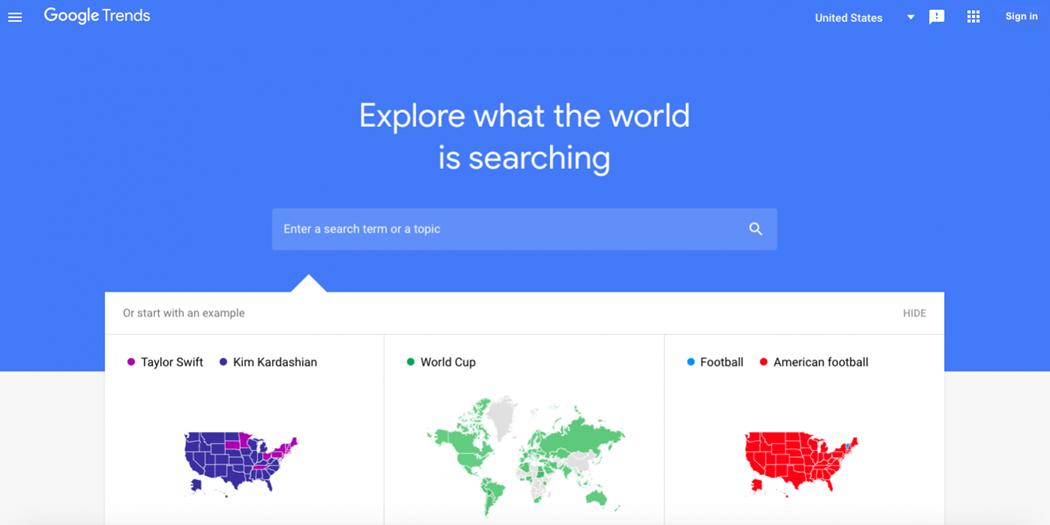 ابزارهای جستجوی کلمات کلیدی