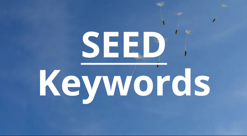 کلمه کلیدی بذر چیست؟